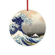 Japanese Art Ornament (Round)