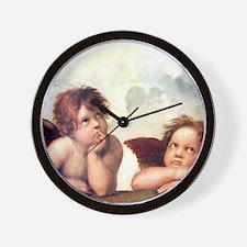 Chubby Cherubs Wall Clock