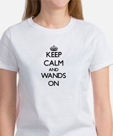 Keep Calm and Wands ON T-Shirt