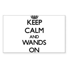 Keep Calm and Wands ON Decal