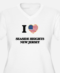 I love Seaside Heights New Jerse Plus Size T-Shirt