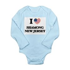 I love Shamong New Jersey Body Suit