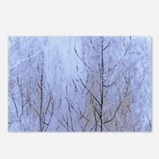 Fall Has Come - Blue Postcards (Package of 8)