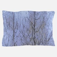 Fall Has Come - Blue Pillow Case