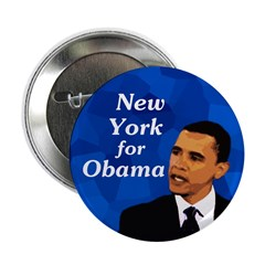 10 New York for Obama buttons