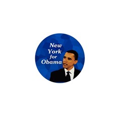 New York for Obama campaign pin