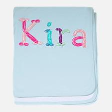 Kira Princess Balloons baby blanket