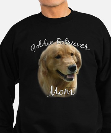 GoldenMom.png Sweatshirt (dark)