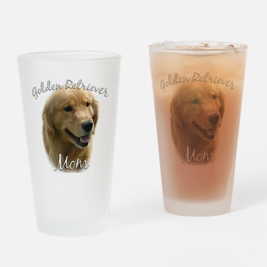 GoldenMom.png Drinking Glass
