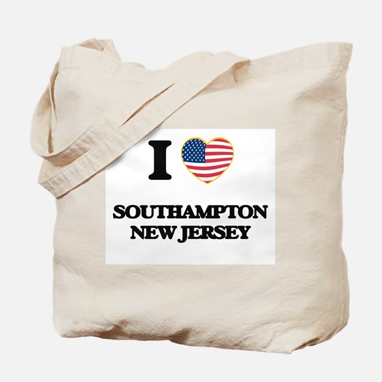 I love Southampton New Jersey Tote Bag