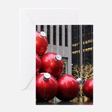 Christmas Ball Ornaments Greeting Cards