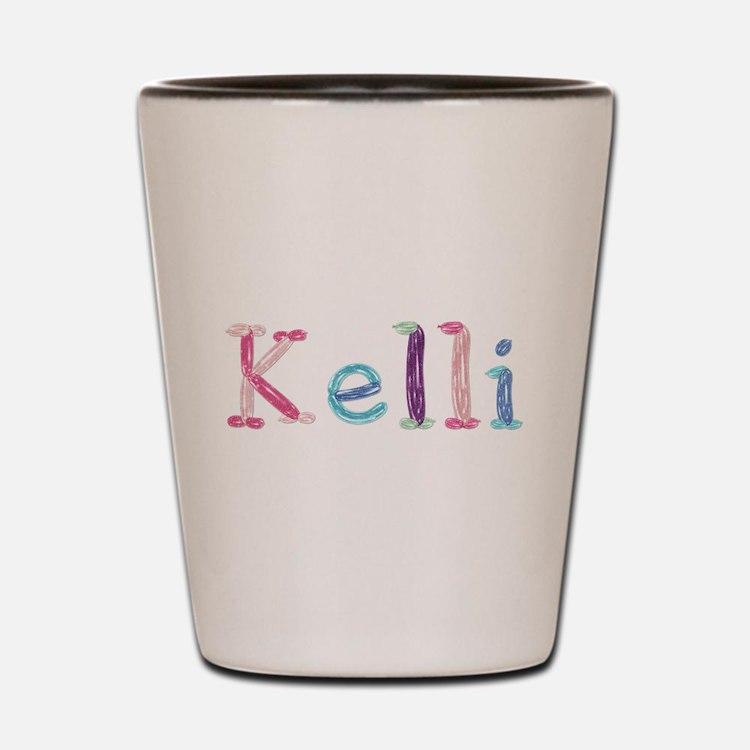 Kelli Princess Balloons Shot Glass