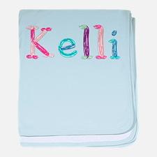 Kelli Princess Balloons baby blanket
