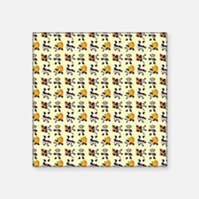 "PANDA BEARS Square Sticker 3"" x 3"""