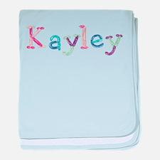 Kayley Princess Balloons baby blanket