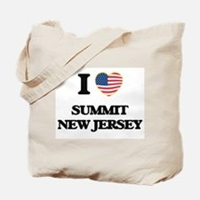 I love Summit New Jersey Tote Bag