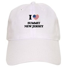I love Summit New Jersey Baseball Cap