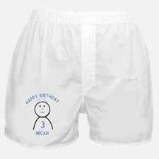 Happy B-day Micah (3rd) Boxer Shorts