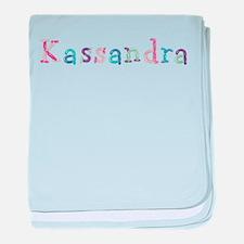 Kassandra Princess Balloons baby blanket