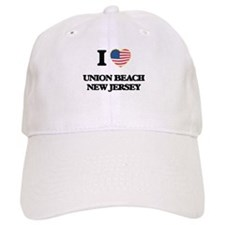 I love Union Beach New Jersey Baseball Cap