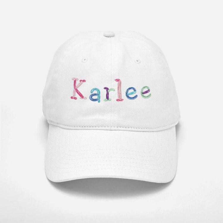 Karlee Princess Balloons Baseball Cap