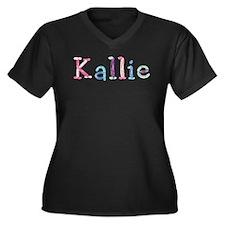 Kallie Princess Balloons Plus Size T-Shirt