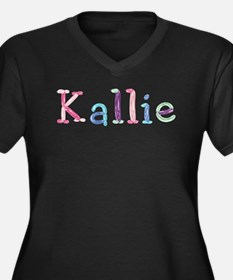 Kallie Princess Balloons Plus Size T-Shirt