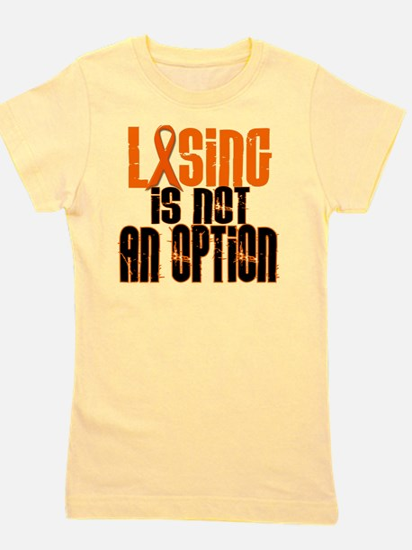 Losing Is Not An Option 5 ORANGE T-Shirt