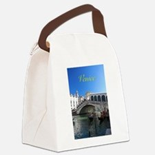 Venice Gift Store Pro Photo Canvas Lunch Bag