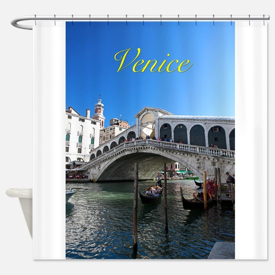 Venice Gift Store Pro Photo Shower Curtain