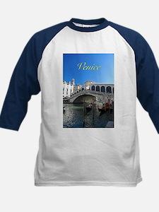 Venice Gift Store Pro Photo Kids Baseball Jersey