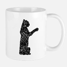 Distressed Jaguar Silhouette Mugs