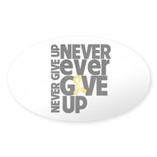 Childhood Cancer Motto Decal