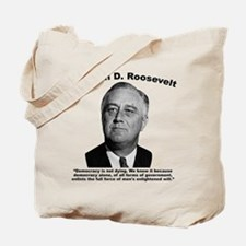 FDR: Democracy Tote Bag