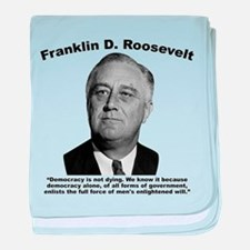 FDR: Democracy baby blanket