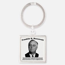 FDR: Democracy Square Keychain