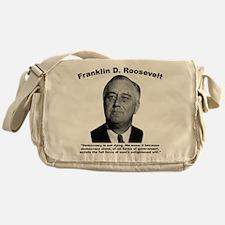 FDR: Democracy Messenger Bag
