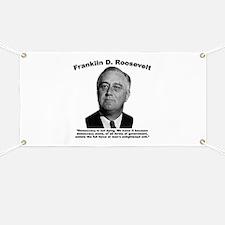 FDR: Democracy Banner
