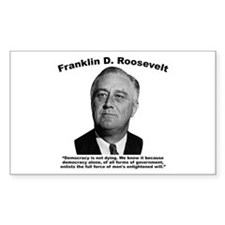 FDR: Democracy Decal