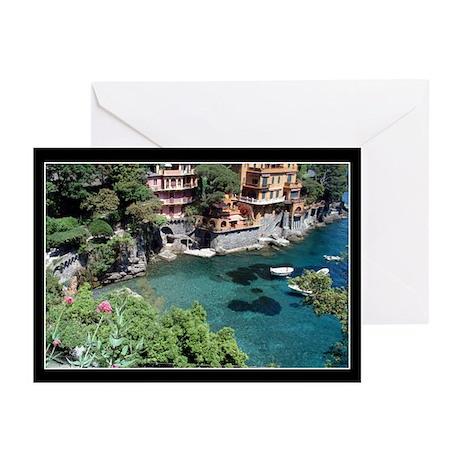 Paraggi, Italy Greeting Cards (Pk of 10)