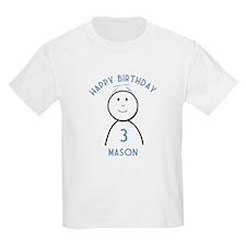 Happy B-day Mason (3rd) T-Shirt