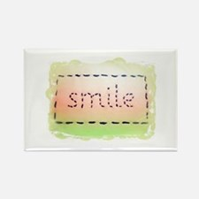Smile Logo Melon and Lime Magnets