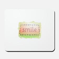 Smile Logo Melon and Lime Mousepad