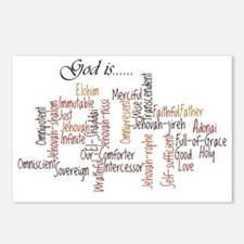 Attributes of God Postcards (Package of 8)