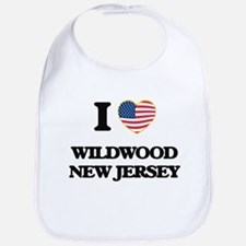 I love Wildwood New Jersey Bib