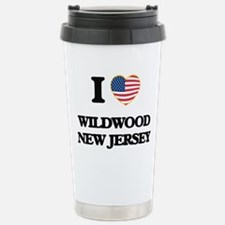 I love Wildwood New Jer Travel Mug