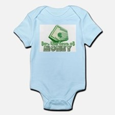 For the Love of MONEY Onesie