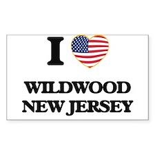 I love Wildwood New Jersey Decal