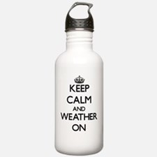Keep Calm and Weather Water Bottle