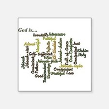 Attributes of God Sticker